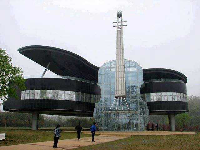 japonya'da bir müzik okulu