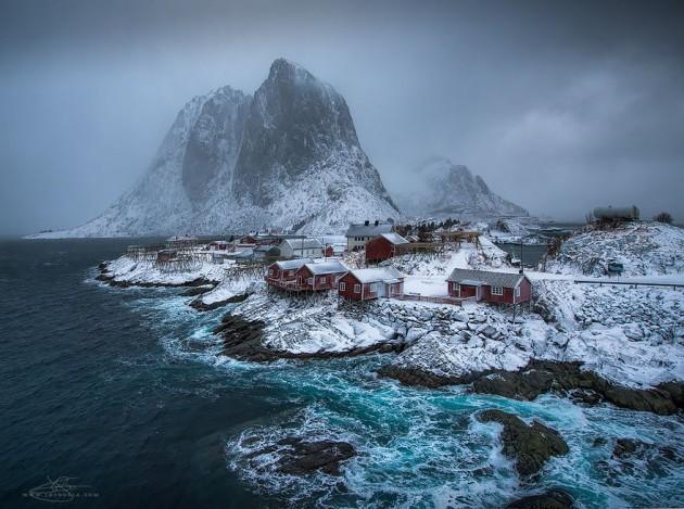 hamnoy, norveç