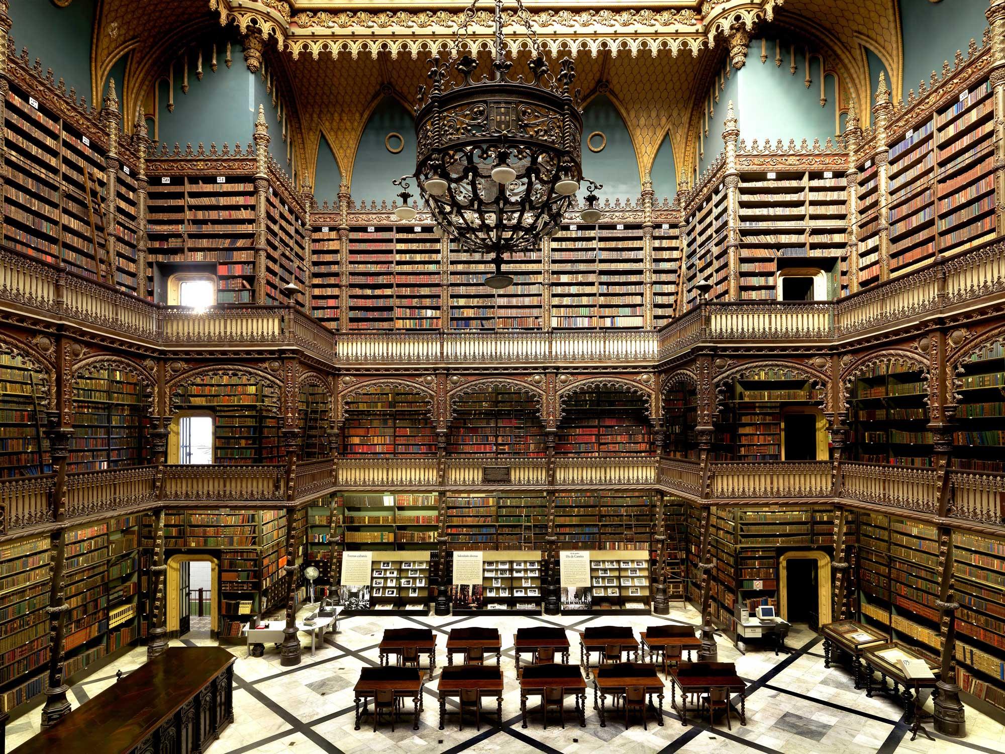 tarihi rio de janeiro kütüphanesi