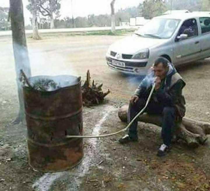 sigara artık kesmeyince ben