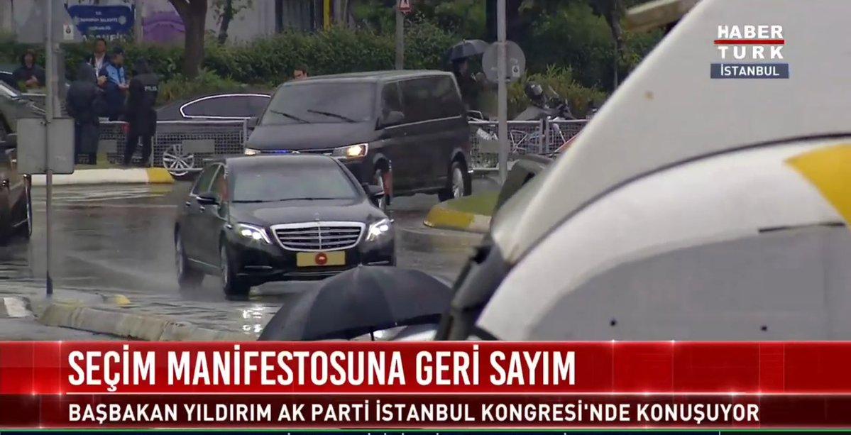 muharrem ince'nin mitingini yayınlamayan habertürk, erdoğan'ın konvoy geçişine kadar yayınlarken
