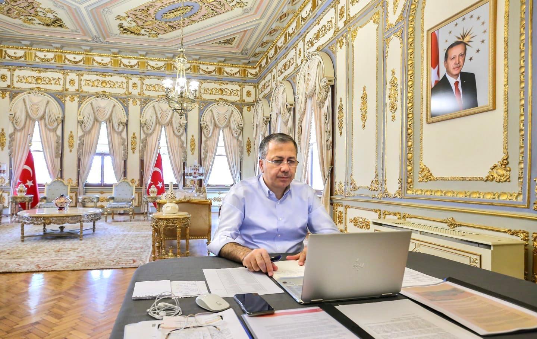 istanbul valisinin makam odası
