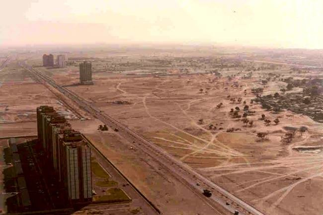 dubai'nin 1991'deki hali.