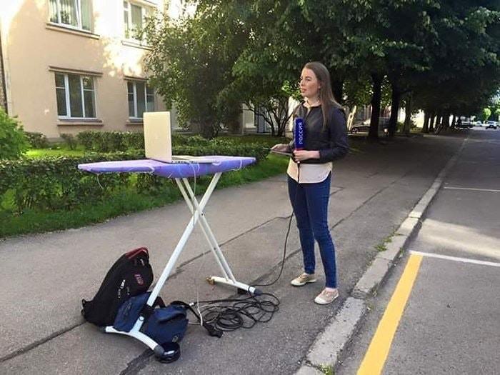 rusya'da sıradan bir muhabir