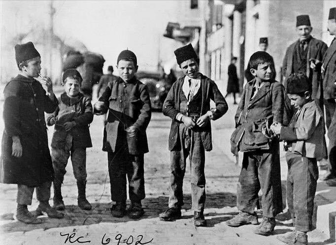 osmanlı döneminde istanbul çocukları, 1902...