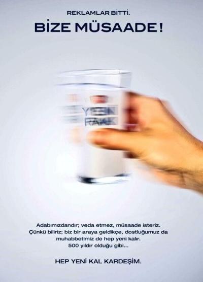 türkiye'deki son alkol reklamı