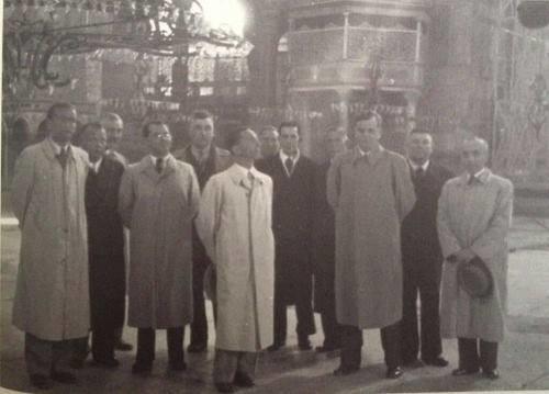 hitler'in kankası joseph goebbels ayasofya'da - nisan 1939