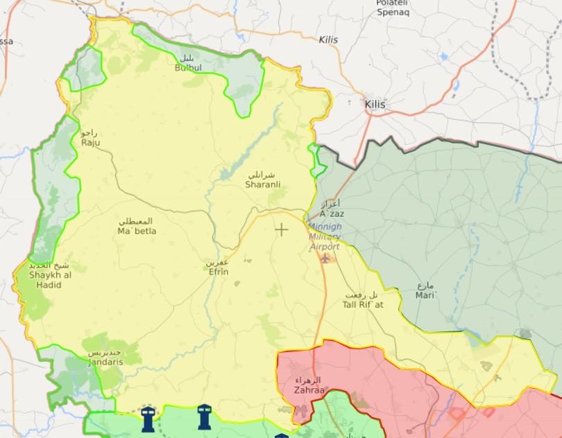 afrin'de son durum (15 şubat 2018)
