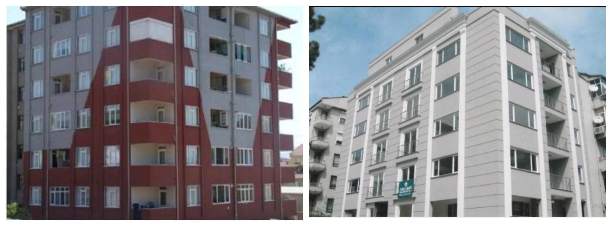 türk, eski ve yeni bina örneği (2000-2018)
