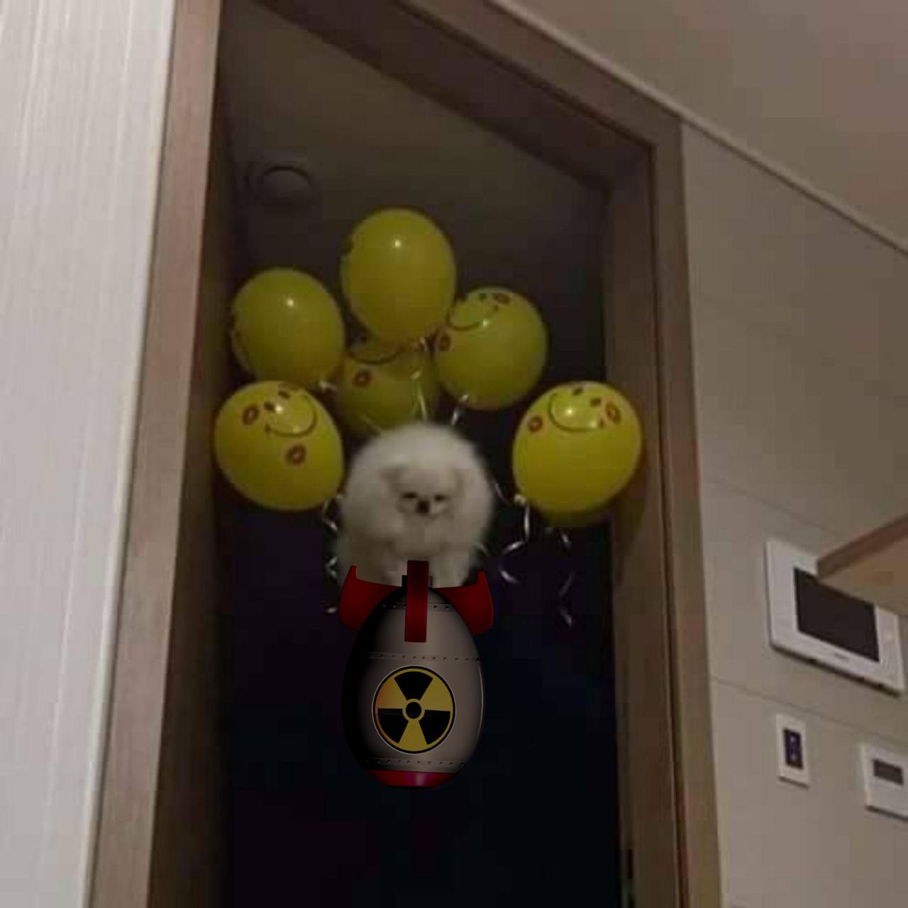 amerikan askeri hiroşima'ya nükleer bomba bırakırken. (1945 renklendirilmiş)
