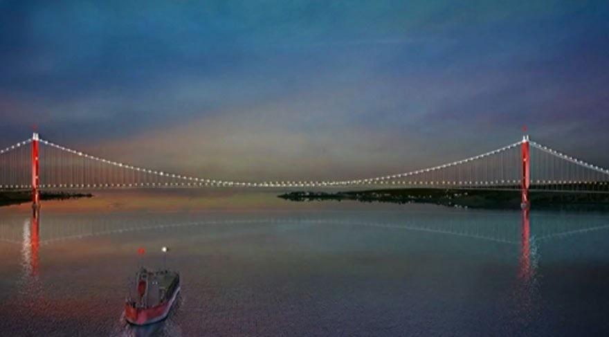 çanakkale 1915 köprüsünün görseli ilk kez yayınlandı