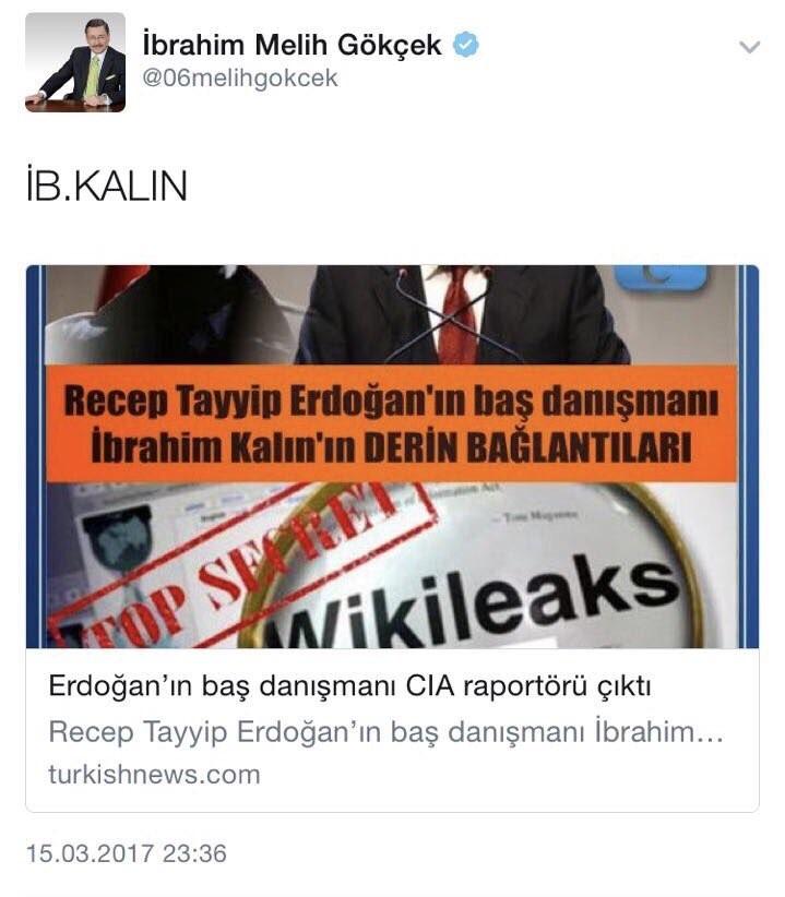melih gökçek cumhurbaşkanı erdoğana savaş açtı
