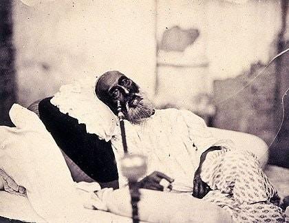 1858: son babür imparatoru'nun tek fotoğrafı