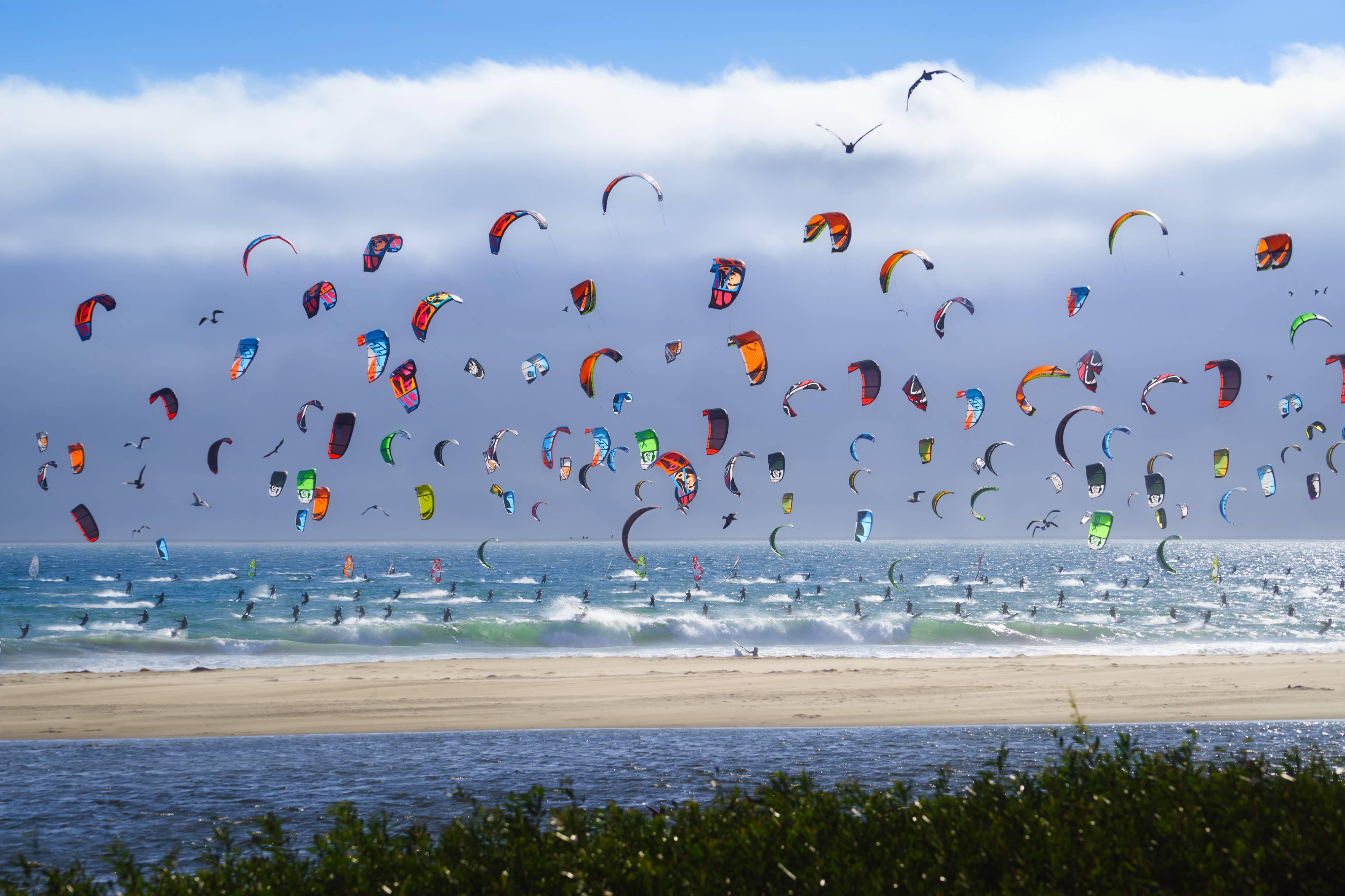 çok tercih edilen kite sörf plajlarından