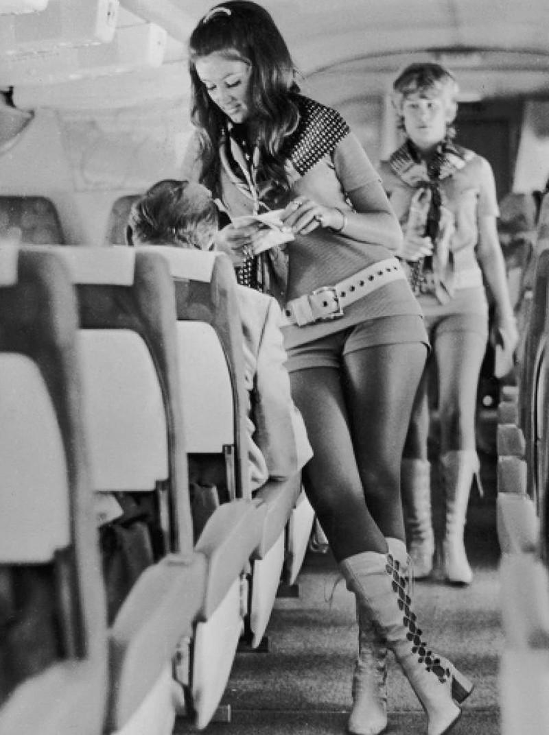 southwest airlines havayolu hostesleri 1972