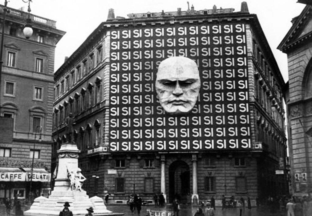 1934: mussolini'nin italyan faşist partisi'nin merkezi