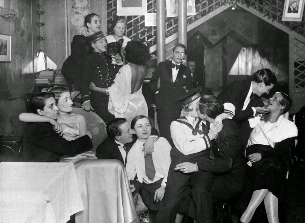 1934: paris'teki bir gay kulübü, fransa
