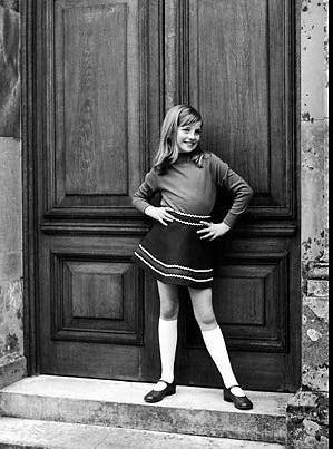 galler prensesi 12 yaşındaki genç prenses diana ,1960