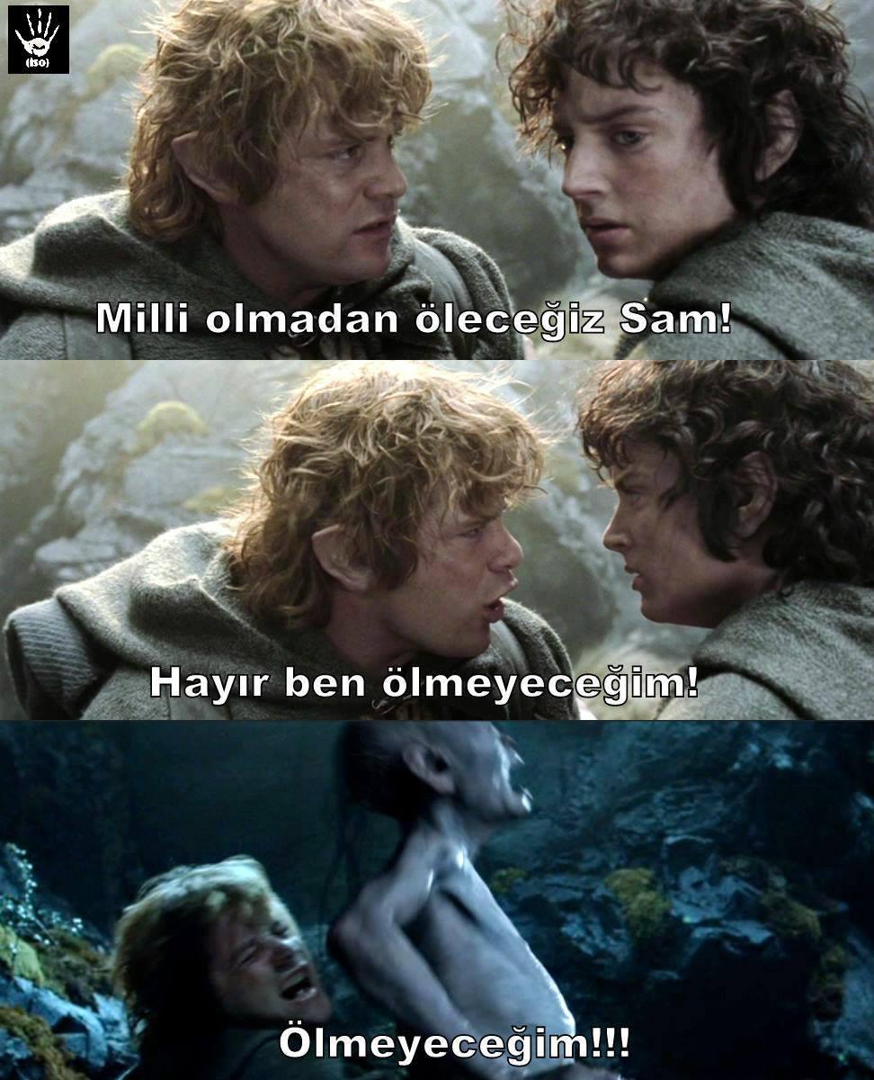 hobbit bey napıyorsunuz???