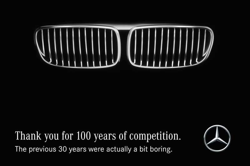 100 yıllık rekabet için teşekkürler. sizden önceki 30 yıl biraz sıkıcıydı