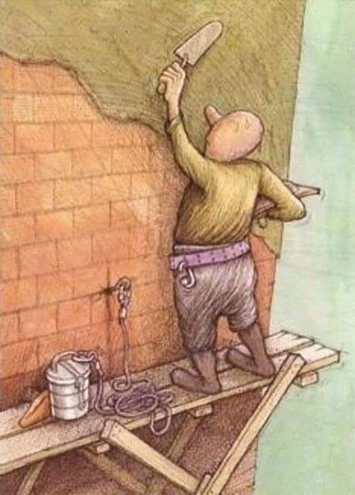 ressam burada neyi anlatmak istemiştir?