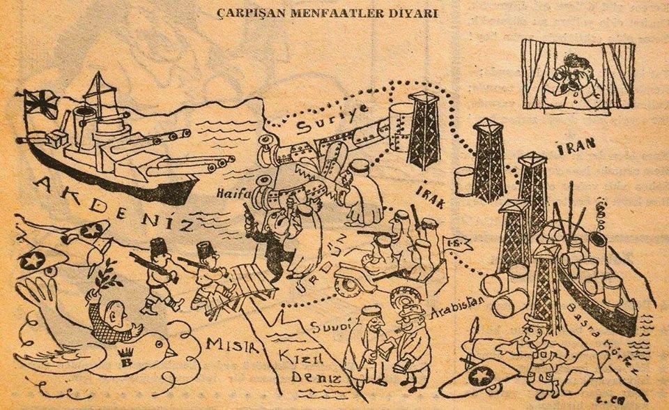 1948 tarihli bir karikatür (değişen bir şey yok)