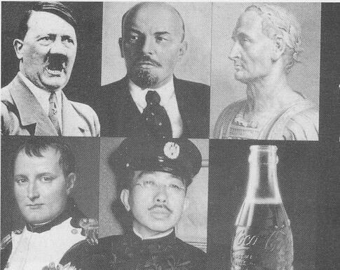 ilginç bir coca cola reklamı: aralarından sadece birisi dünyayı fethedebildi...