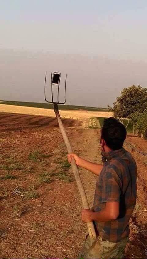 selfie çubuğuna alternatifler