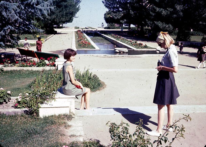 60'lı yıllarda afganistan