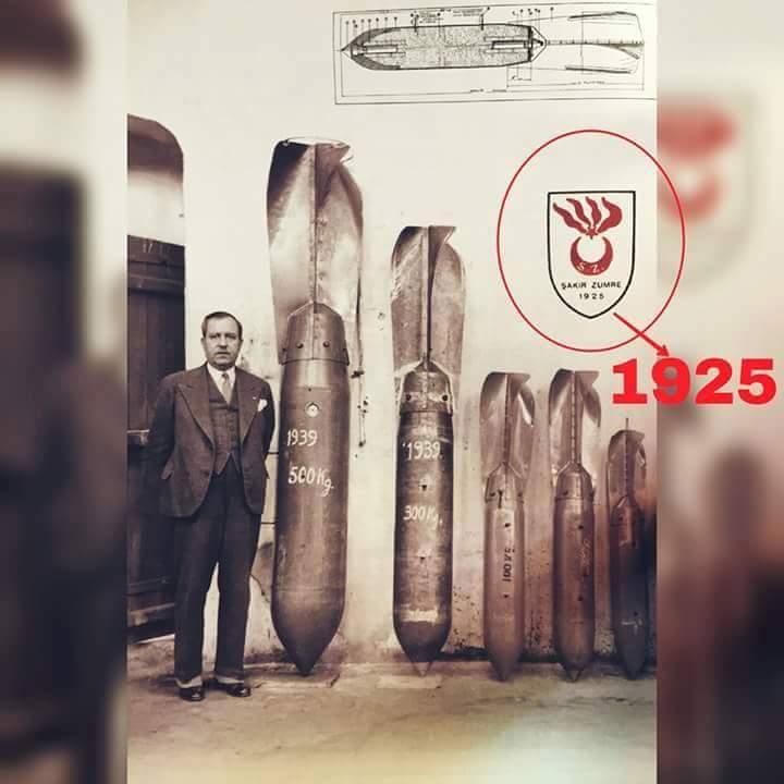 şakir zümre tayyare bombası üretim fabrikası 1925