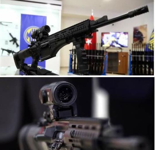 makina ve kimya endüstrisi kurumu (mkek) tarafından geliştirirlen ve üretilen milli piyade tüfeği ( mpt-76 ) türk silahlı kuvvetlerine teslim edildi.