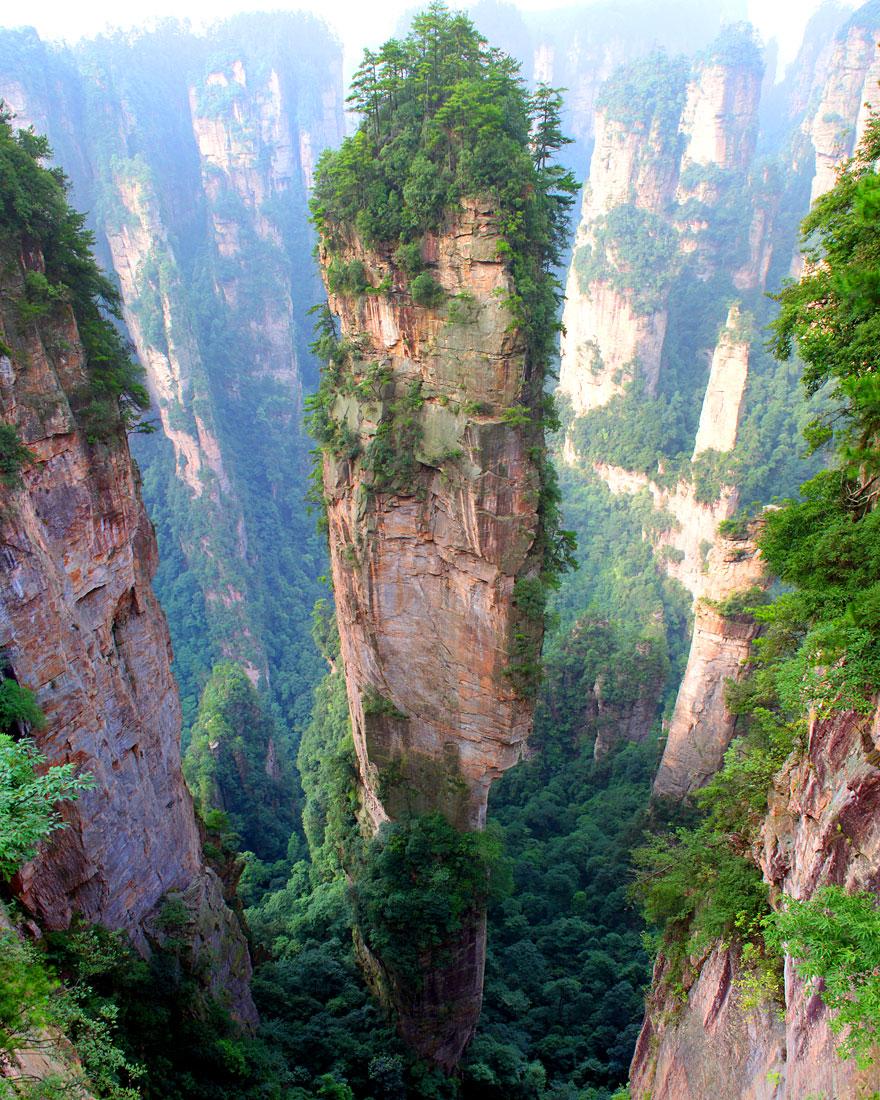 çin tianzi dağları