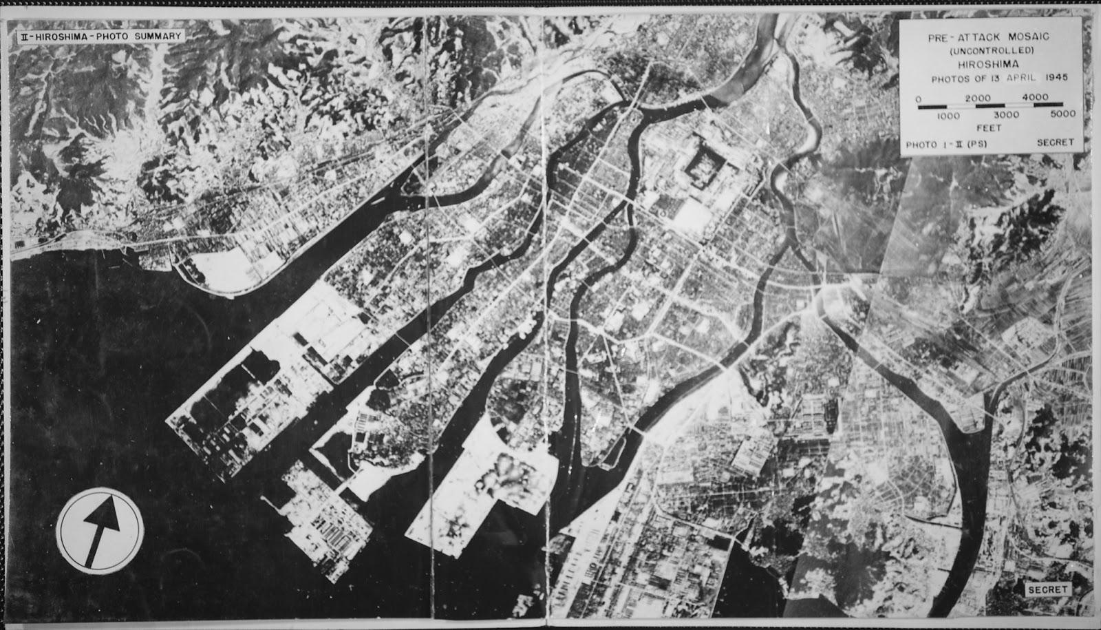 hiroshima'ya atom bombası atılmadan önceki hali