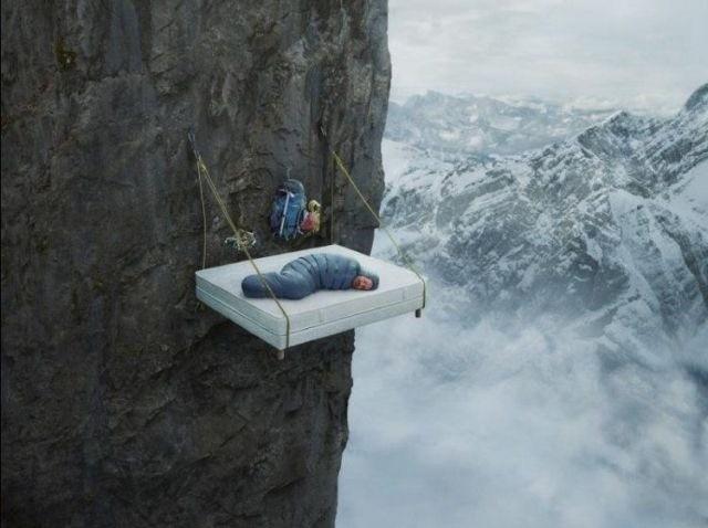 kimsenin uykunuzu bölmeyeceği yer