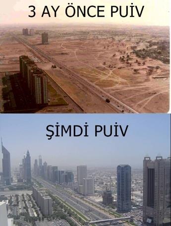 puiv'in değişimi