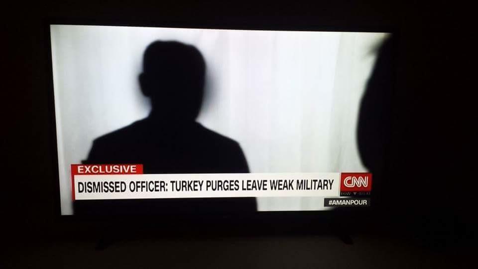 """darbeden dolayı görevden uzaklaştırılan """"üst düzey asker"""" abd'de cnn'e konuşuyor: tsk/thk cok zor durumda, uçak uçurmakta bile zorlanıyor.  türk tarihi bunlar gibi hain görmedi."""
