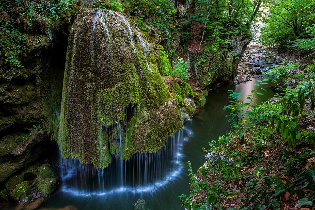 bigar waterfall, romanya