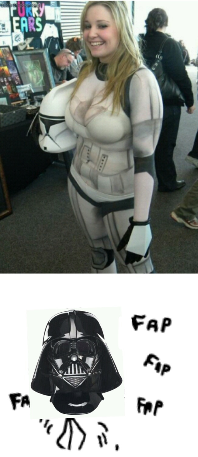 darth vader time to fap